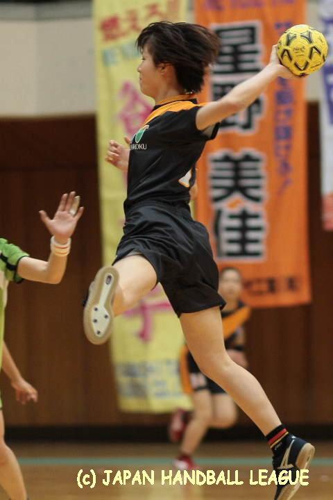 北國銀行 No.7 川井 望未 No.22 - 2008/11/1 鈴鹿 - 女子:三重バイオレ