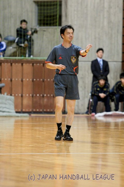 Referee Kazuo Tada