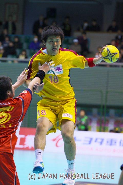 japan handball league